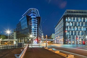 Kronprinzen Bridge, Modern architecture, Calatrava bridge, Berlin, Germany