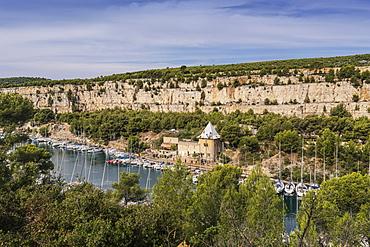 Calanque de Port Miou, Cassis, Cote d Azur, France