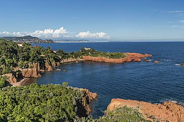 Pointe du Cap Roux, Corniche de l'Estérel, Mediterranean Coast, Var Cote d'Azur, France