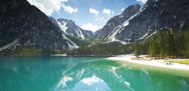 Pragser Wildsee, Hochpustertal, South Tyrol, Italy
