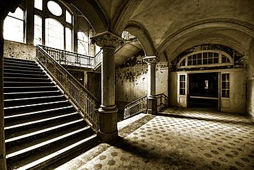 Beelitz Sanatorium, Sanatorium, Hospital, Leaving, Beelitz, Brandenburg, Germany