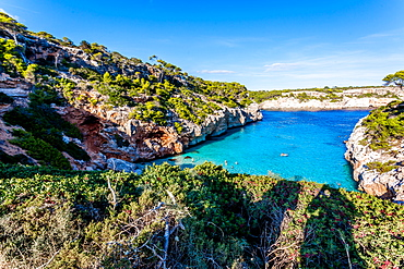 Calo des Moro, Mallorca, Balearic Islands, Spain