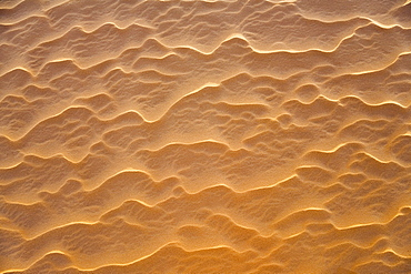 patterns, structures in the Sanddunes of the libyan desert, Sahara, Libya, North Africa