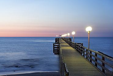 Pier, Kuehlungsborn, Mecklenburg-Western Pomerania, Germany