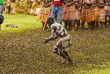 Snake man Warakala at Singsing Dance, Lae, Papue New Guinea, Oceania