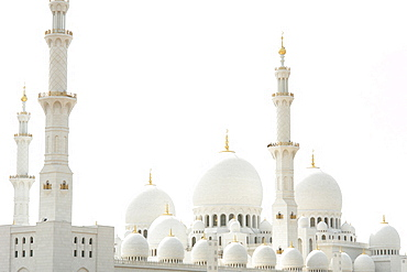 Zayed Grand Mosque, Sheikh Zayed Mosque, Abu Dhabi, United Arab Emirates, UAE