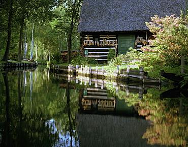 Farmhouse, Lehde, Spreewald, Brandenburg, Germany