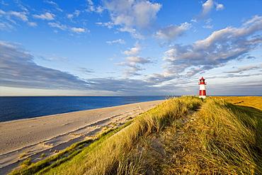 Lighthouse List East, Ellenbogen, Sylt island, Schleswig-Holstein, Germany