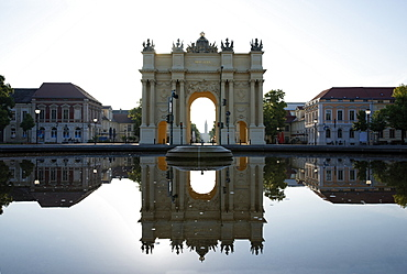 Brandenburg Gate, Luise square, Potsdam, Brandenburg, Germany