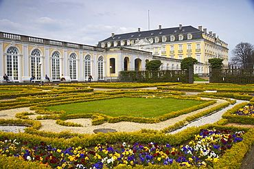Augustusburg palace, Bruehl, North Rhine-Westphalia, Germany