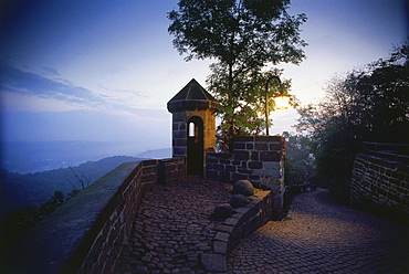 Rise to the Wartburg, Eisenach, Thuringia, Germany