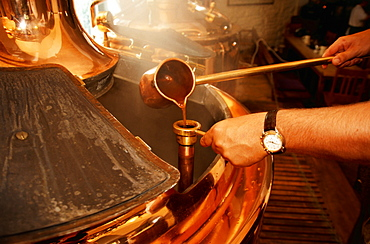 Brewing, Griesbraeu, Murnau, Upper Bavaria, Bavaria, Germany