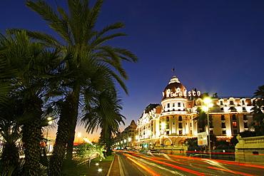 France,Nice,Promena s Anglais,Hotel Negresco