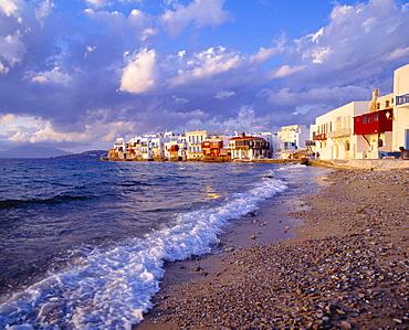 Little Venice, Beach, Mykonos, Cyclades, Greece