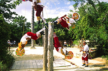 Valadores in Amusement Park, Yucatan, Mexico