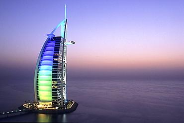 Hotel Burj al-Arab, Dubai, UAE