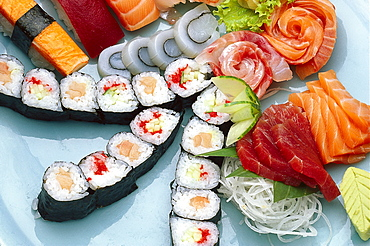 Sushi, Close-up