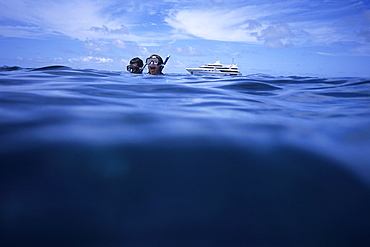 Snorkeling, Blue Lagoon Cruise Yasawa Group, Fiji