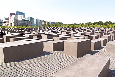 Memorial to the murdered jews of europe, Berlin Germany