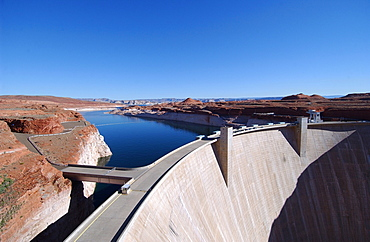 Glen Canyon Dam, Arizona, USA, Lake Powell, Arizona, USA