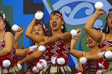 Maori Arts Festival, Rotorua, North Island, Neuseeland