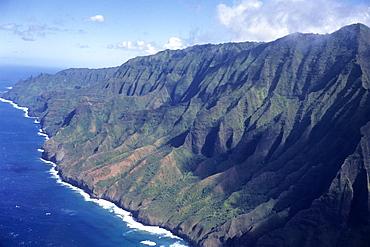 Aerial Photo of Na Pali Coast, Kauai, Hawaii, USA