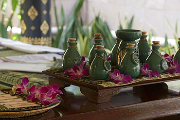 Banyan Tree Spa Oils, Banyan Tree Resort, Phuket, Thailand