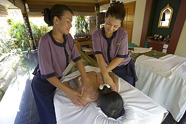 Massage, Banyan Tree Spa, Banyan Tree Resort, Phuket, Thailand