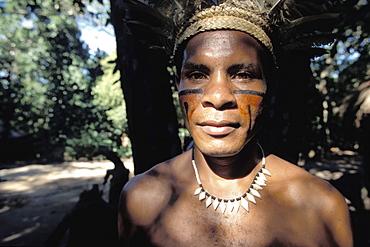 Pataxo Indian, Porto Seguro, Bahia, Brazil