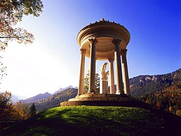 Pavillion, Schloss Linderhof, Upper Bavaria, Germany