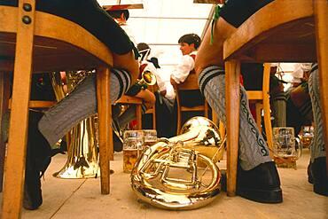 Bavarian folk musicians, Germany