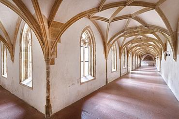 Cloister in the Blaubeuren monastery, Alb-Donau district, Baden-Württemberg, Germany