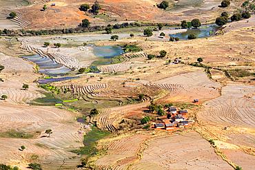 Tsaranoro Valley, Highlands, Southern Madagascar, Africa