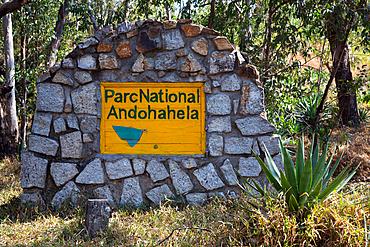 Andohahela National Park, entrance, Anosy Mountains, south-east Madagascar, Africa