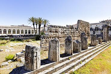 Temple of Apollo, Syracuse, Sicily, Italy