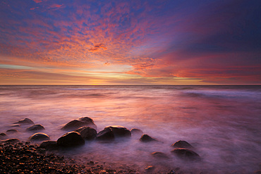 At Cape Arkona, Ruegen, Baltic Sea, Mecklenburg-Western Pomerania, Germany