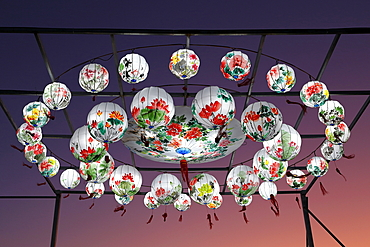 Feux Follet, chinese lights event, Montreal, Quebec, Canada