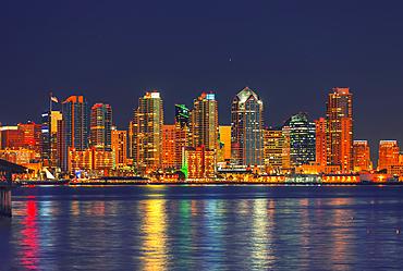 City skyline, San Diego, California, United States of America,