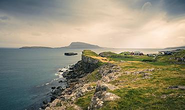 Coast in Torshavn, Faroe Islands