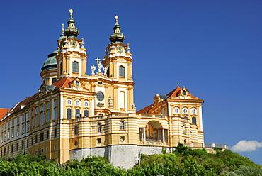 Melk Abbey, Wachau valley, Lower Austria, Austria