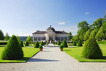 Garden of Melk Abbey, Wachau, Lower Austria, Austria