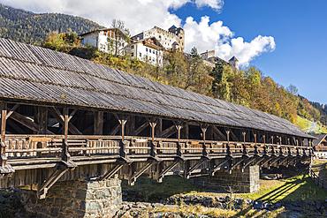 Bunbrugge and Heinfels Castle, Heinfels, East Tyrol, Tyrol, Austria