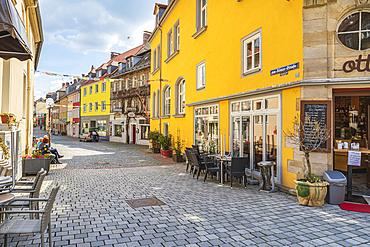 Von-Römer-Strasse in Bayreuth, Bavaria, Germany