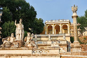 Piazza del Popolo, Rom Italien