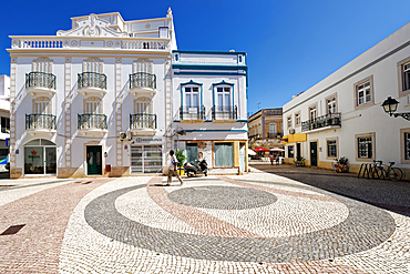 In the old town of Olhao near Faro.