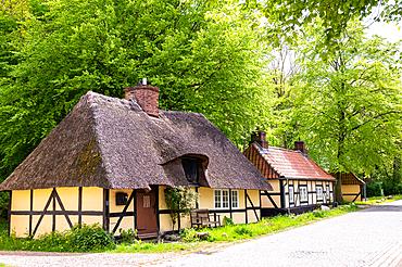 St. Johannis-Armenstift in Vogelsang-Grünholz, Schleiregion, Schwansen, Damp, Schleswig-Holstein, Germany