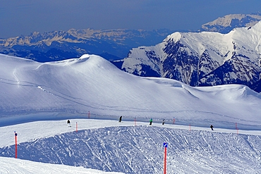 Arosa ski area, Graubünden, Switzerland