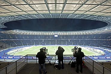 German Bundesliga game, Olympia Stadium Berlin, Germany
