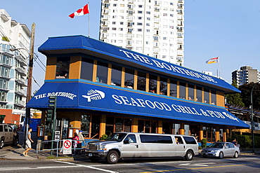 Seafood Grill, Stretch Limousine, English bay, Westend, Vancouver City, Canada, North America
