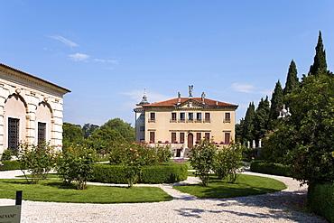 Villa Valmarana ai Nani, fresco paintings from Giovanni Battista Tiepolo and Giovanni Domenico Tiepolo, Vicenza, Veneto, Italy